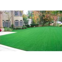 Buy cheap Green 10000 Dtex Synthetic Artificial Turf Grass Environmental Drainage Holes from wholesalers
