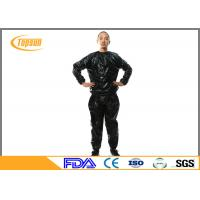 Wholesale Comfortable Disposable Sauna Suit Sauna Exercise Suit For SPA / Bathing from china suppliers