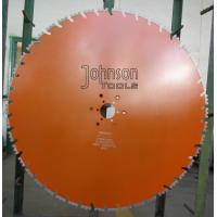 Quality Double U Shaped Segmented Diamond Saw Blade For Dry / Wet Cutting for sale