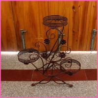 Wholesale Hotel leisure wrought cast iron flower stand from china suppliers
