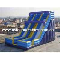 Wholesale Beach Rental Inflatable Water Slide With Dual Lanes For Water Amusement from china suppliers