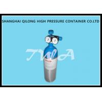 Wholesale Alloy Aluminum Gas Cylinder 2.67L Compressed Gas Cylinder Safety from china suppliers