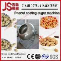 Quality Chocolate Peanut Coating Machine Polishing Machine Easy Operation for sale