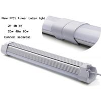 Suspended / Ceiling IP65 LED Linear Light 5ft 6000k Dimming Linear Hanging Light