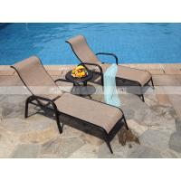 Wholesale BMLQ09402 sling alumicast sun lounge restaurant chairs for sale from china suppliers