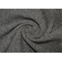 Wholesale Waterproof Tweed Wool Fabric Grey With Environmental Material Lightweight from china suppliers