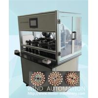 Wholesale Four station ventilator coil winder ceiling fan winding machine with servo system WIND-CFW from china suppliers