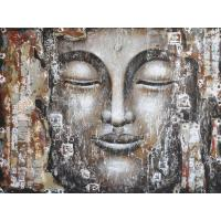 Buy cheap asian style modern buddha oil painting from wholesalers