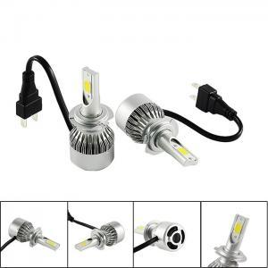 Wholesale Auto Spare Parts Bright COB LED Headlight Bulbs 880 881 H4 H7 LED Car Headlight Bulbs from china suppliers