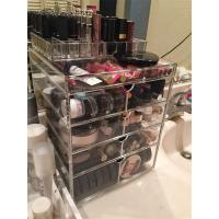 Wholesale Clear acrylic/Perspex cosmetic/PMMA material makeup drawer organizer with drawer from china suppliers
