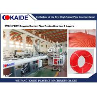 China 3 Layers EVOH Oxygen Barrier Composite Pipe Production Line 15m/min Speed CE Approved on sale