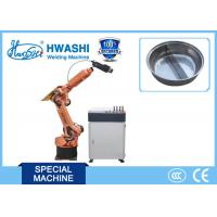 Wholesale Laser Industrial Welding Robots , Robotic Six Axis Robotic Arm Welding Machine from china suppliers