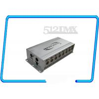 Wholesale Eight Way Signal DMX Amplifying Distributor / Signal Distributor dmx opto splitter from china suppliers