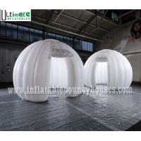 Wholesale Portable Air Inflatable Tents White N Round Inflatable Photo Booth With Led Light from china suppliers