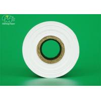 China Cash Register Receipt Thermal Paper Rolls 80 X 80mm Paper / Plastic Core Inner Tube on sale