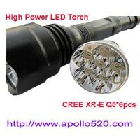 Wholesale 1500Lumens High Power CREE Q5 LED Torch from china suppliers