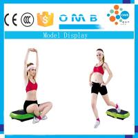 Quality Ultrathin Cyber Fitness Vibration Plate with Strength Yoga String for sale
