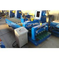 Wholesale High Grade Metal Glazed Roof Tile Roll Forming Machine Width 1200mm 0.3mm - 0.6mm from china suppliers