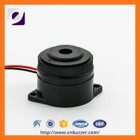 Wholesale 12V 30mm Black Siren Piezo Alarm Buzzer With Continous and Pluse tone from china suppliers