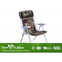 Wholesale Fold Away Sun Loungers Steel Outdoor Patio Chairs With Pillow 61 X 61 X 97cm from china suppliers