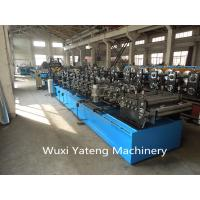 Wholesale 15 KW CZ Purlin Roll Forming Equipment For Big Warehouse Hydraulic Punching And Cutting from china suppliers