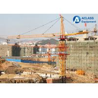 Wholesale Electric Construction Tower Crane 56m JIB QTZ80 Fixed And Out Climbing Type from china suppliers