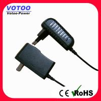 Quality 9V 1A Switching Power Supply Adapter Input High efficiency with AUS plug for sale
