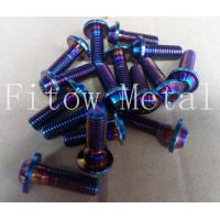 Wholesale Racing titanium screw bolt motorcycle bolts anodized bolts from china suppliers