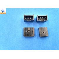 Quality 2.54mm Pitch Shrouded Header Male Connector For Wire To Board Connector / Housing for sale