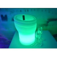 Wholesale Remote Control Led Colour Changing Ice Bucket IP65 With Lithium Battery from china suppliers