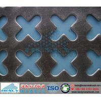 Wholesale Crisscross Perforated Metal Sheets, Cross Punching Metal from china suppliers