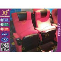 Wholesale Water Proof Plastic Cover Movie Theater Chairs , Cinema Seating Furniture from china suppliers