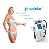 Wholesale Non Surgical Cryolipolysis Fat Freezing Machine , Coolplas Cellulite Reduction Machine from china suppliers
