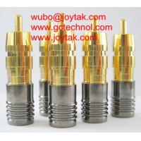 Wholesale RCA Coaxial Connector Compression Type RG6 RG59 Coaxial Cable CCTV Video Audio / RCA.C.08G from china suppliers