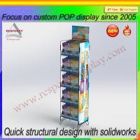 Wholesale New products customized floor standing display rack from china suppliers