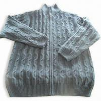 Wholesale Men's Outdoor Sweater, Made of Acrylic, Available in Various Sizes from china suppliers