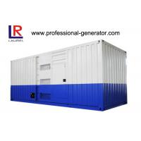 Wholesale 1250Kva High Voltage 1000kw Soundproof Diesel Generator at 60HZ with Water Cooling Cycle from china suppliers