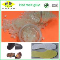 Wholesale White Odorless EVA Hot Melt Adhesive , Shoes Footwear Hot Melt Glue Pellets from china suppliers