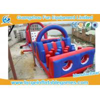 Wholesale Separating Climbing Inflatable Bouncer Jumper With Slide , CE Blower from china suppliers