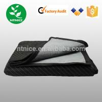 "Quality hot sale 72""*80"" non woven multifunction furniture Moving Blankets 100% recycled textile materials for sale"