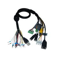 Wholesale Security Cable Group Bus RJ45 Plug to RJ45 Socket plus BNC Female Cable from china suppliers