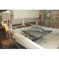 Wholesale Color Steel Stone Coated Roof Tile Machine With PLC Control System from china suppliers