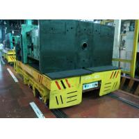Wholesale Inplant Mold Coil Handling Flat Cart Mounted Rail Matching Crane Forklift from china suppliers