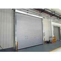 Wholesale Exterior Interior Insulated Roll up Industrial Security Doors Grey White Panel from china suppliers