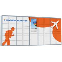 Wholesale Winnsen RFID and phone number access Parcel Delivery Locker with multi languages from china suppliers