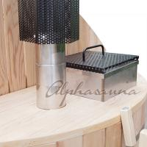 Quality Hot Sales Outdoor Red Cedar Sauna Hot Tub Bath Barrels, Outdoor Barrel Sauna Bath for sale