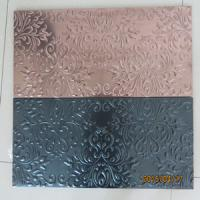 Wholesale 304 stainless steel mosaic tiles(embosing tiles ) from china suppliers