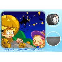Wholesale Rectangular Rubber Cloth Mouse Pads With Customized Picture from china suppliers