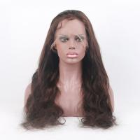 Wholesale 130% Density Body Wave Full Cuticle 20inch Glueless Full Lace Wig With Baby Hair from china suppliers