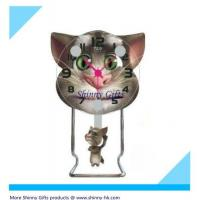 Wholesale Cat Tom fancy desk clock  from china suppliers
